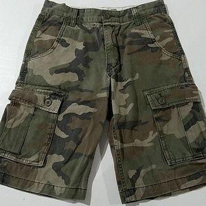 Old Navy Bottoms - Boys Old Navy Camo cargo shorts 12